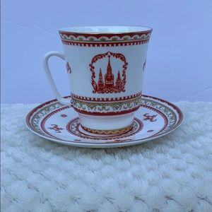 Dining - Lomonosov Russian Teacup & Saucer